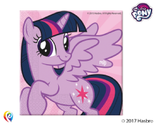 20 My Little Pony Paper Napkins